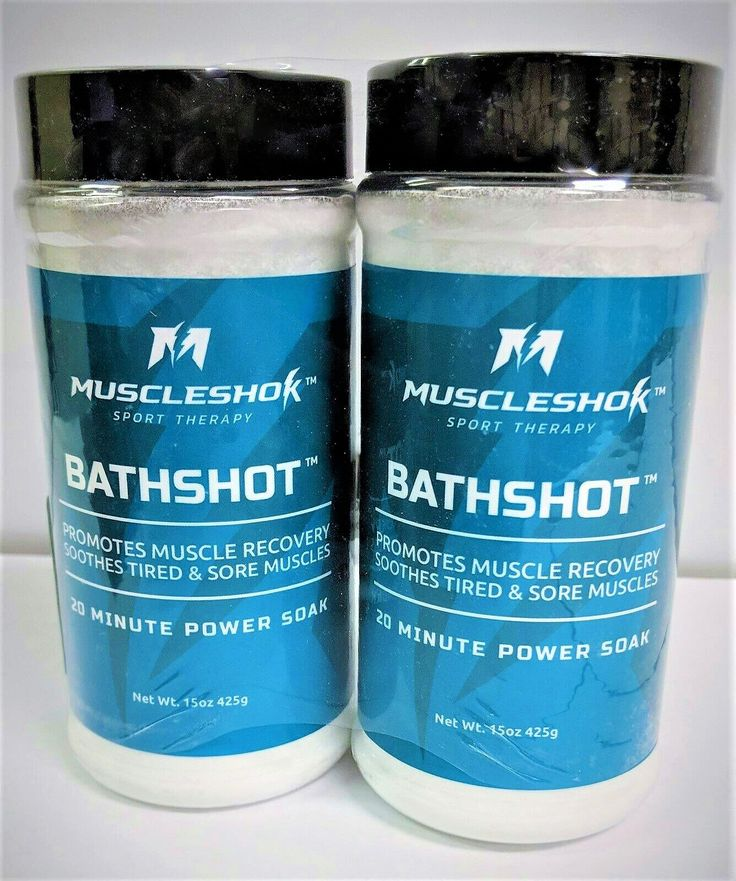 Muscleshok Bath Soak For Sore Muscles 2 Pack Outperforms