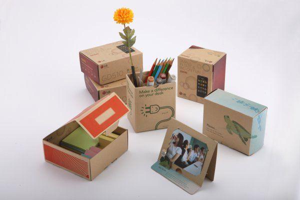 """LG's award winning reusable package"" via http://seoulcolors.com"