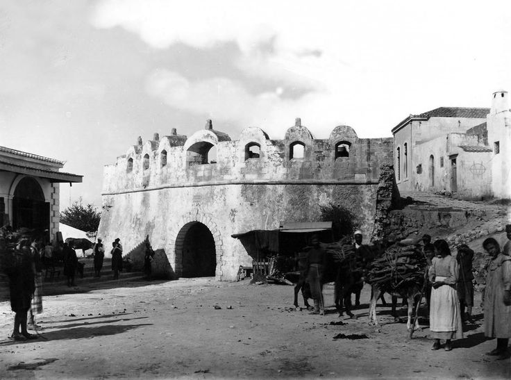 Giuseppe Gerola, 1902-04, Ρέθυμνο, η Πύλη Γκουόρα.
