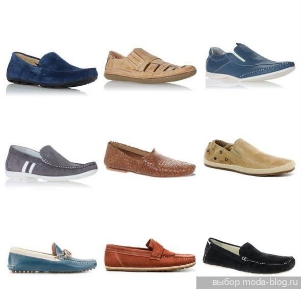 Какие мужские ботинки в моде на лето