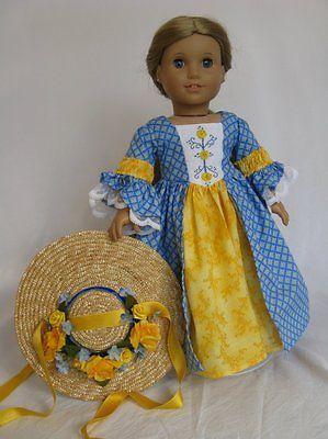 Colonial Easter Joy for American Girl Felicity or Elizabeth | AllDolledUp via eBay