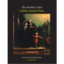 litplan teacher pack for the scarlet letter complete unit of study open and