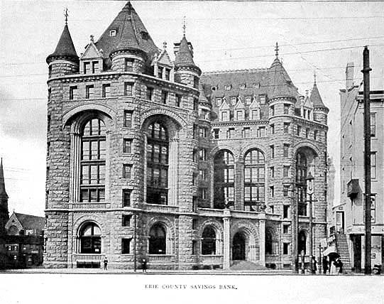Erie Savings Bank Founded By Stephen Van Rensselaer Watson Photo Sosurce Buffalo And Its