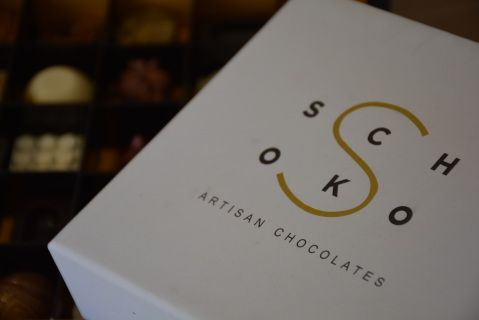 A box of 6 Artisan Chocolates