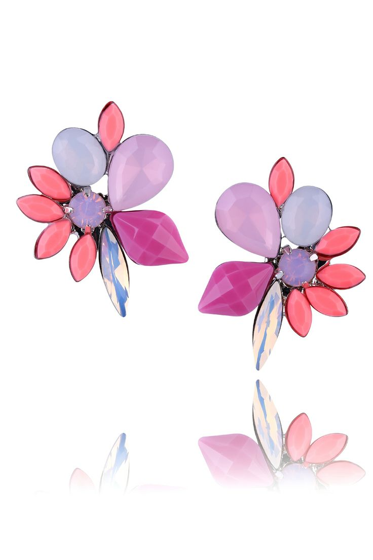 Kolczyki z kolekcji SHINING SUMMER. #ByDziubeka #jewelry #earrings #bizuteria