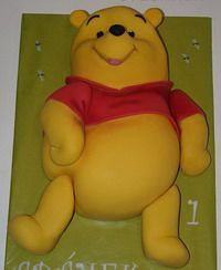 2D Winnie-the-Pooh Cake tutorial  Ariana