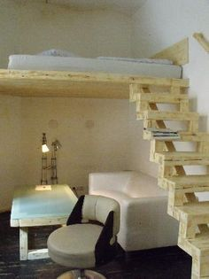 hochbett erwachsene on pinterest hochbett f r erwachsene hochbett. Black Bedroom Furniture Sets. Home Design Ideas