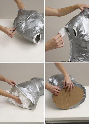 Como fazer um manequim caseiro de costura