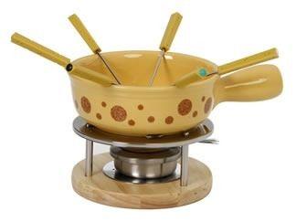 Fondue cerámica amarillo