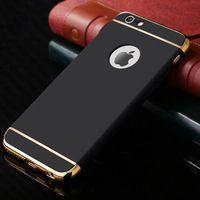 Caja del teléfono de plástico duro para el iphone 6 s 6 s plus plus 6 Protector mate de la Contraportada Capinha Coque de Marcas de Lujo con Logo de Ultra delgado