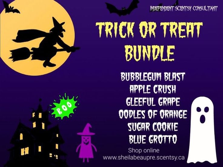 BUY 5 GET 1 FREE  Scentsy Spectacular Trick or Treat Bundle of 6 bars waiting for you!