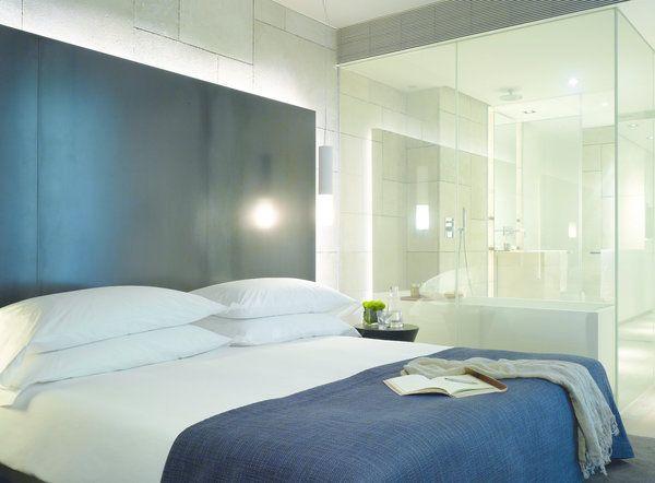 pour ou contre la salle de bain ouverte sur la chambre idee salle de bain pinterest - Salle De Bain Ouverte Sur Chambre Design