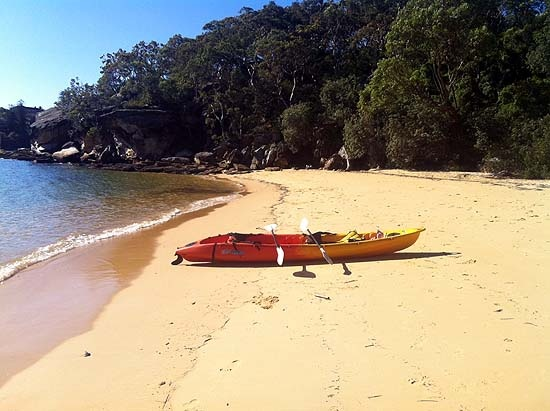 Store Beach, Manly by Kayak – Sydney's Secret Beaches