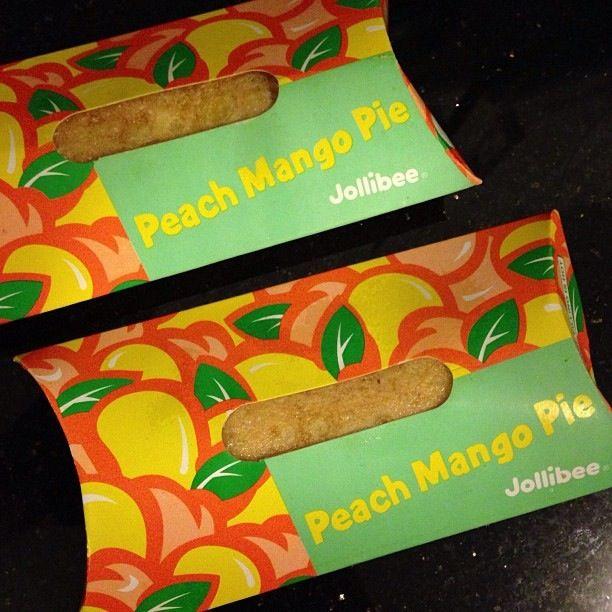 Peach mango pie from Jollibee