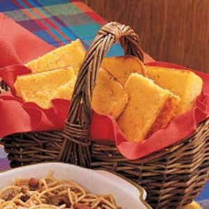 Spicy Jalapeno Corn Bread Recipe -We enjoy the combination of flavors in this golden corn bread. It's not dry or crumbly like other corn breads.—Anita LaRose, Benavides, Texas