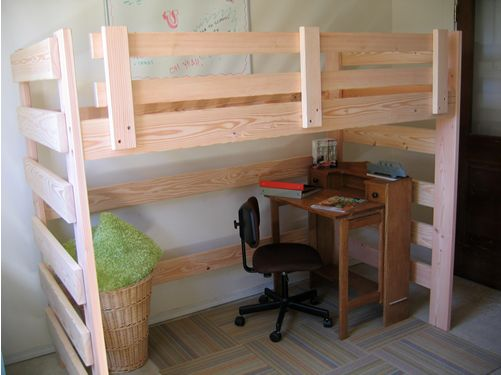 Loft bed idea...
