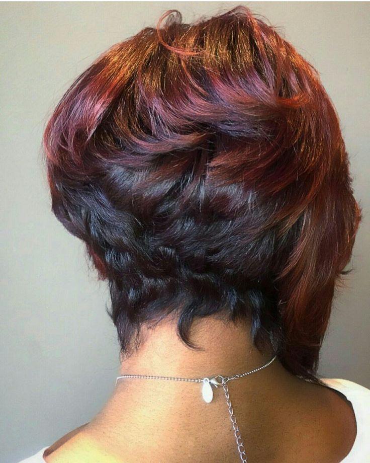 Phenomenal 1000 Ideas About Black Hair Bob On Pinterest Reverse Bob Hairstyle Inspiration Daily Dogsangcom