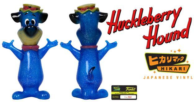 Dom Pixote (Huckleberry Hound) Hikari Sofubi – Boneco Funko Hanna-Barbera em Estilo Japonês