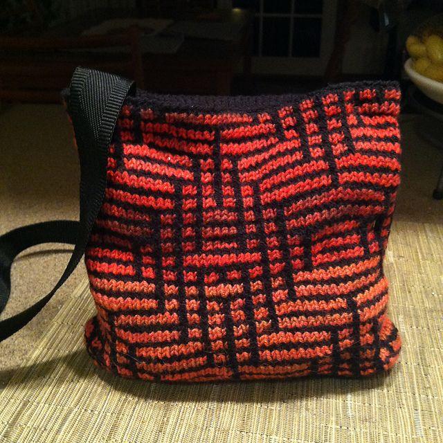 Ravelry: Glasgow bag pattern by Jane Pearlmutter