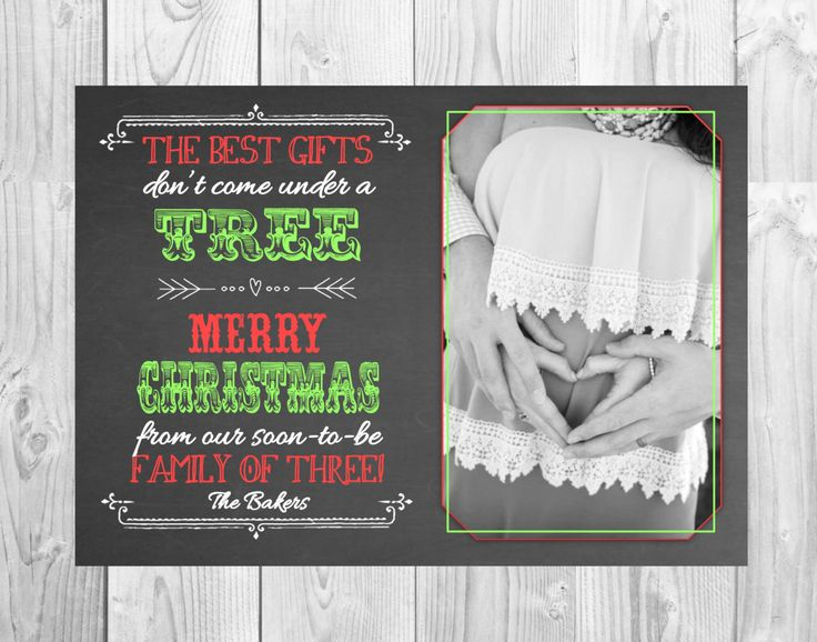christmas cards to announce pregnancy selo l ink co