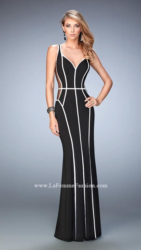 #njprom #Prom2016 #prom La Femme 22419 | La Femme Fashion 2015 - La Femme Prom Dresses - La Femme Short Dresses