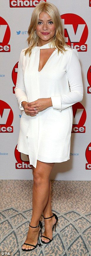 TV Choice Awards 2016 red carpet led by Katie Price, Holly Willoughby and…