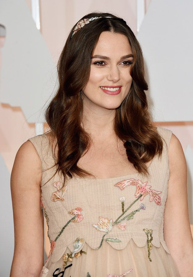 Kiera Knightly looked like a wood nymph last night, in the best way possible.