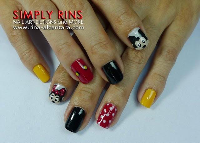 Mickey Mouse #Nailart