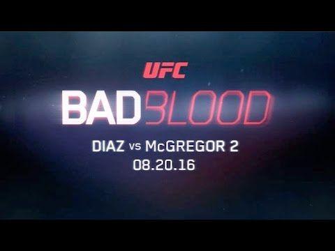UFC 202 Bad Blood: Diaz vs. McGregor 2