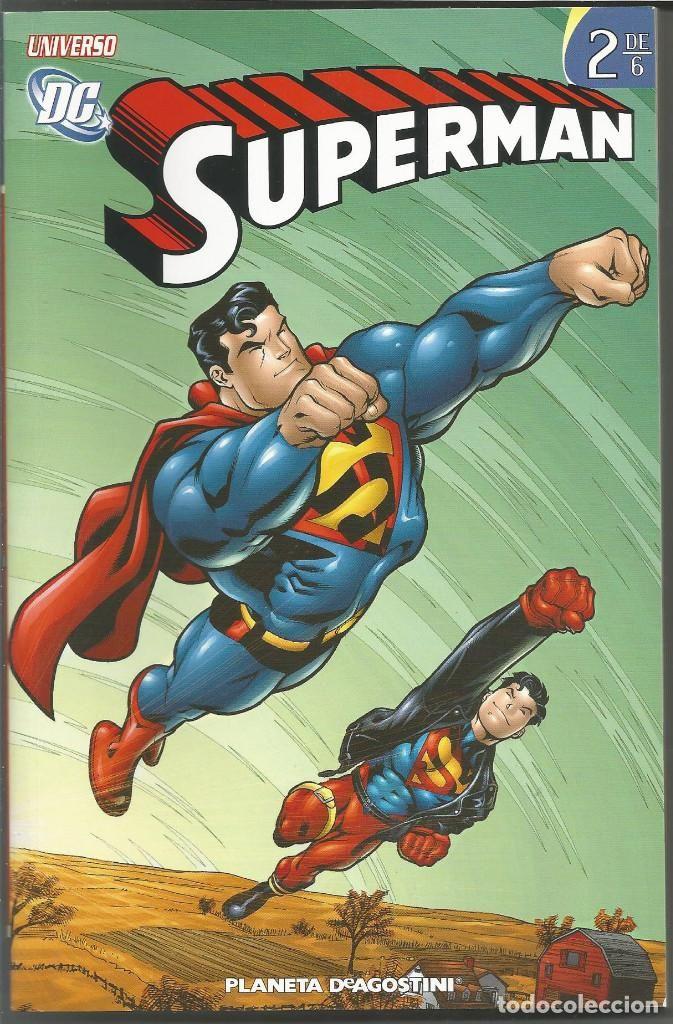 UNIVERSO DC SUPERMAN 2 (DE 6) DE JEPH LOEB DC COMICS PLANETA DEAGOSTINI