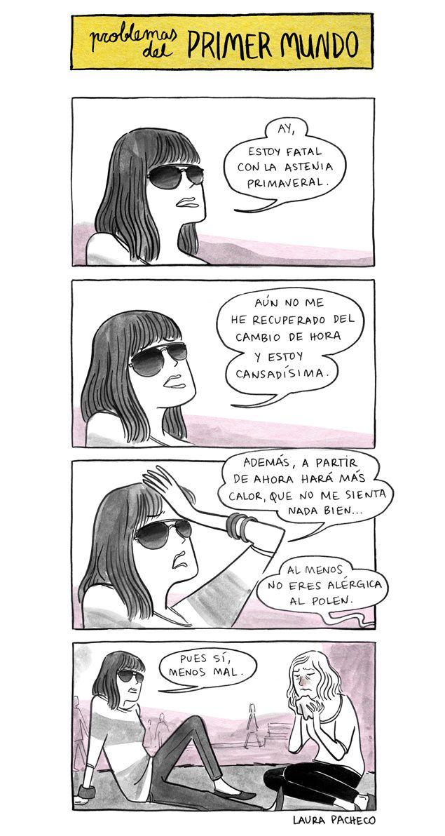 Problemas del primer mundo, Laura Pacheco