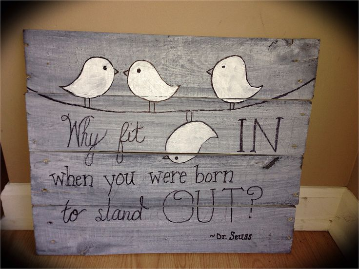 hand painted wooden sign - Wood Sign Design Ideas