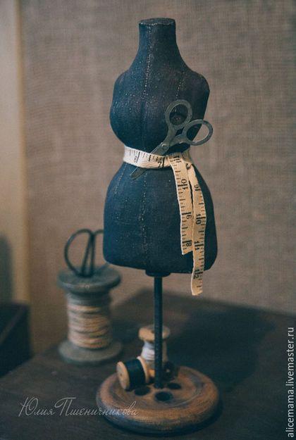 Статуэтки ручной работы. Ярмарка Мастеров - ручная работа. Купить Винтажный манекен. Handmade. Манекен, черный, аксессуары