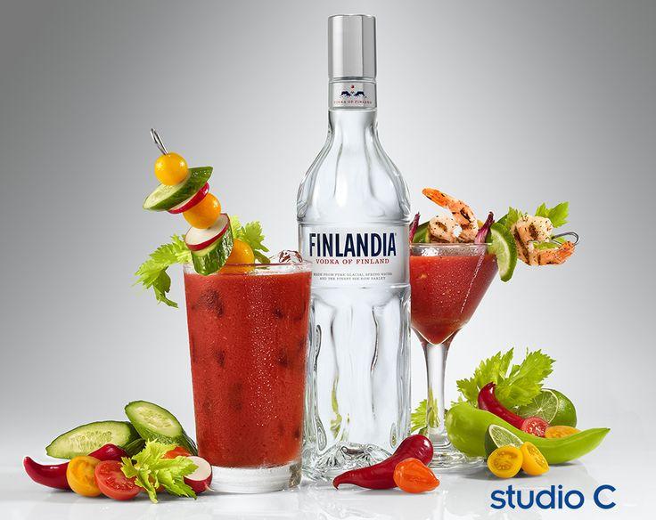 Finlandia ad campaign photographed by Studio C.