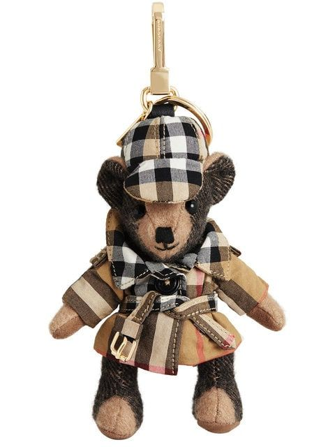 e2673cca922 BURBERRY Thomas Bear Charm in Vintage Check Trench Coat  290 ...