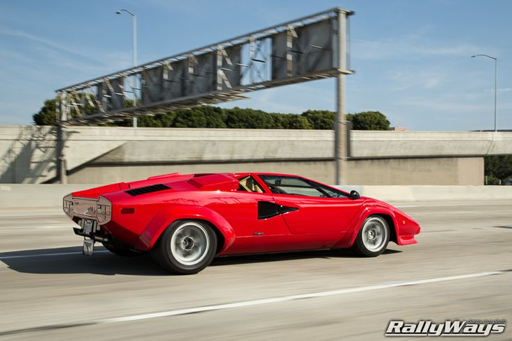 RallyWays is big into automotive photography. Lamborghini Countach action photo from the RallyWays Car Photography Portfolio. #countach #carphotography #automotivephotography