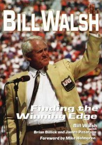 Bill Walsh: Finding the Winning Edge (By Brian Billick) On Thriftbooks.com. FREE US shipping on orders over $10. You dont win three Super Bowls with luck. Bill Walsh, head coach of the San Francisco 49ers during the great Montana years, provides an inside look at his tenure with a team that will be remembered...