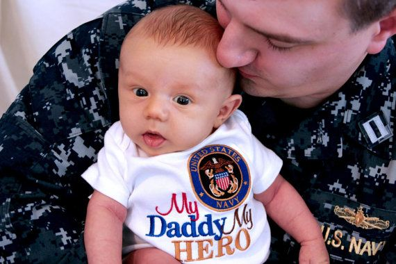 Any Branch My Hero is in the Navy I call him Daddy Mommy Shirt Onesie Air Force Navy Coast Guard Marines National Reserves Any Military