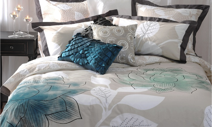 Lotus Bed Linen by Ladelle from Harvey Norman New Zealand