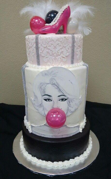 Marilyn Monroe cake by Mr. B Chocolates, Willmar MN