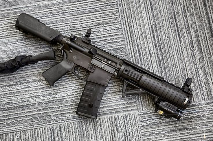 Upgraded my AR15 Pistol with a few interesting parts
