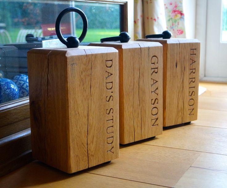 Wooden Door Stops | MakeMeSomethingSpecial.co.uk
