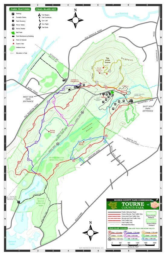 tourne trail map mtb mountain biking pinterest trail maps Loantaka Park Trail Map tourne trail map mtb mountain biking pinterest trail maps, county park and mountains loantaka park trail map