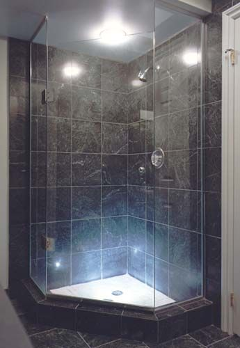 I Would Like To Mimic The Marble Tiling And Have A Similar Corner Shower  Setup.