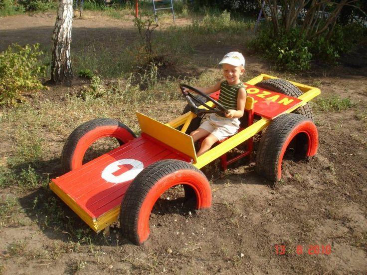 Jeux pour enfants en pneus | 1001Pneus Le Blog