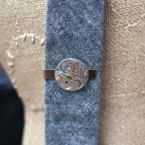 Pocket Watch Tie Clip now featured on Fab.