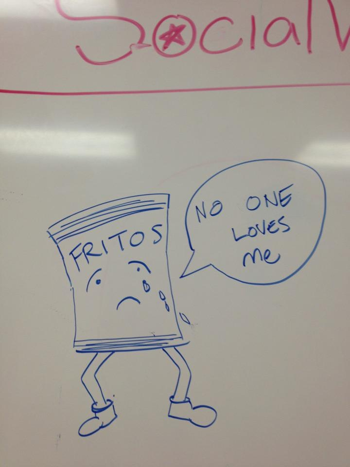 Los Angeles: Poor Fritos are always the last chips left in the kitchen!Chips Left, Finding Engagement, Los Angeles, Poor Frito, Los Angels