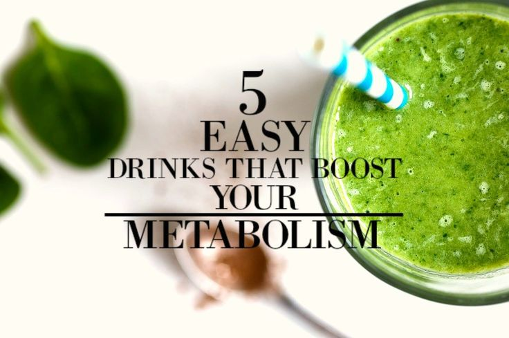 5 Easy Drinks that will Boost Your Metabolism