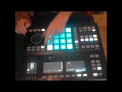 EVASION LIVE   JAY FAB on MASCHINE STUDIO   my sweety song