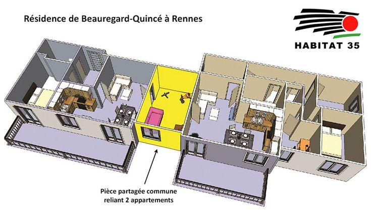 1er programme intergénérationnel pour HABITAT 35 à Rennes